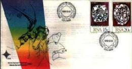 REPUBLIC OF SOUTH AFRICA, 1980, Diamond Congress., First Day Cover Nr.3.22 - South Africa (1961-...)