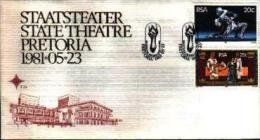 REPUBLIC OF SOUTH AFRICA, 1981, State Theatre, First Day Cover Nr 3.28 - South Africa (1961-...)