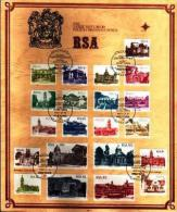 REPUBLIC OF SOUTH AFRICA, 1982, Buildings Definitives,  First Day Cover (card)nr 4.1 - South Africa (1961-...)