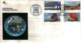 REPUBLIC OF SOUTH AFRICA, 1983, Weather Stations,  First Day Cover 4.3 - South Africa (1961-...)