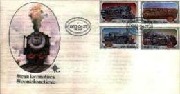 REPUBLIC OF SOUTH AFRICA, 1983, Locomotives,  First Day Cover 4.4 - South Africa (1961-...)