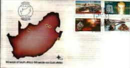 REPUBLIC OF SOUTH AFRICA, 1984, Minerals, First Day Cover 4.8 - South Africa (1961-...)