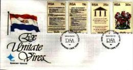 REPUBLIC OF SOUTH AFRICA, 1984, New Constitution, First Day Cover 4.9.s - South Africa (1961-...)