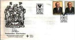 REPUBLIC OF SOUTH AFRICA, 1984, P.W. Botha, First Day Cover 4.9.a - South Africa (1961-...)