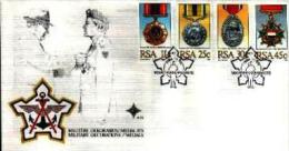 REPUBLIC OF SOUTH AFRICA, 1984, Military Medals, First Day Cover 4.10 - South Africa (1961-...)
