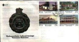 REPUBLIC OF SOUTH AFRICA, 1986, Historic Buildings, First Day Cover 4.17 - South Africa (1961-...)