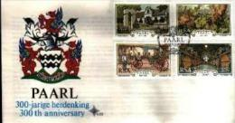 REPUBLIC OF SOUTH AFRICA, 1987, Paarl,  First Day Cover 4.22 - South Africa (1961-...)
