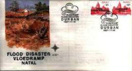 REPUBLIC OF SOUTH AFRICA, 1987, Flood Disaster,  First Day Cover 4.22.1 - South Africa (1961-...)