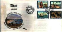 REPUBLIC OF SOUTH AFRICA, 1988, Bartelomeus Diaz,  First Day Cover 4.24 - South Africa (1961-...)