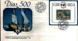 REPUBLIC OF SOUTH AFRICA, 1988, Bartelomeus Diaz,  First Day Cover 4.24ms Block - South Africa (1961-...)