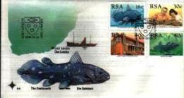 REPUBLIC OF SOUTH AFRICA, 1989, Selakant Fish,  First Day Cover 5.3 - South Africa (1961-...)