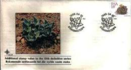 REPUBLIC OF SOUTH AFRICA, 1989, Succulent 18 Cent,  First Day Cover 5.3.1 - South Africa (1961-...)