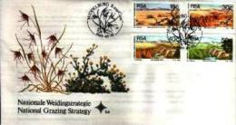 REPUBLIC OF SOUTH AFRICA, 1989, Irrigation  First Day Cover 5.4 - South Africa (1961-...)
