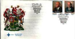 REPUBLIC OF SOUTH AFRICA, 1989, W.F.de Klerk,   First Day Cover 5.6.1. - South Africa (1961-...)