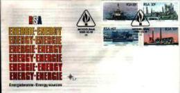 REPUBLIC OF SOUTH AFRICA, 1989, Energy,   First Day Cover 5.7 - South Africa (1961-...)