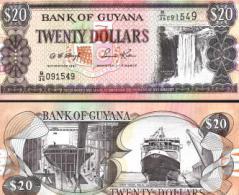 Guyana #30-12, 20 Dollars, ND (1996), UNC / NEUF - Guyana