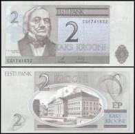 Estonia #new 2, 2 Krooni, 2006, UNC - Estland