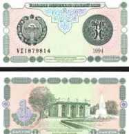 Uzbekistan #73, 1 Sum, 1994, UNC / NEUF - Usbekistan