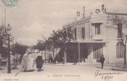 Guelma (Algérie) Hôtel Des Postes   - (animée - Oblitération De 1904) - Guelma