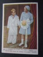 23 Avril 1937 Prins Albert Chromo -image:Chocolat Belge Côte-d'Or:série Enfants Royaux De Belgique - Côte D'Or