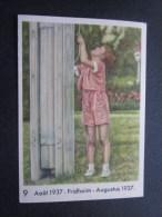 Août 1937 Prins Albert Fridhem Chromo -image:Chocolat Belge Côte-d'Or:série Enfants Royaux De Belgique Jeu Dans Jardin - Côte D'Or