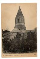Cp , 16 , CHARENTE , La COURONNE , église , Abside Et Clocher , Voyagée - Autres Communes
