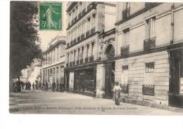 75-PARIS----16arrondis -avenue D´orléans-villa Adrienne Et Bureau De Poste Central  -2  Scans - Paris (16)