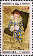France Poste N** (Yv:1840/1841 Mi:1915/1916) Yv:1,85 Euro Europa Tableaux Picasso & Van Dongen (Thème) - 1975