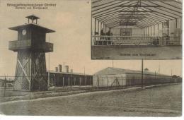 CPSM MILITAIRE OHRDRUF (Allemagne-Thuringe) - Camp De Prisonniers 1914/18 : 2 Vues Uhrturm Und Kirchenzelt - Allemagne