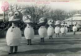 Carte Photo - AIX-EN-PROVENCE  1952 Canaval LII - Corso Carnavalesque : Futurs Canards - Unclassified