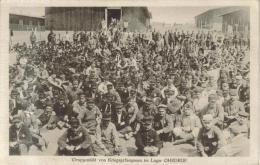 CPA MILITAIRE OHRDRUF (Allemagne-Thuringe) - Camp Prisonniers 1914/18 : Gruppenbild Von Kriegsgefangenen - Allemagne