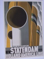 PUBLICITE   BATEAU  10945 STATENDAM CASSANDRE 2004  EDITIONS  CLOUET - Advertising