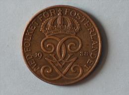 Suéde 5 Ore 1938 - Suède