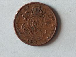 Belgique 1 Cent 1901 - 1865-1909: Leopold II