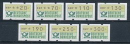 Bund ATM 1982 7 Werte 20 .. 300 ** Kpl. - BRD