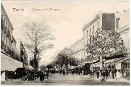 Tunisie, Tunis, Avenue De France - Tunisie