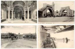 6 CPA : Tunisie, Tunis, Caserne Forgemolle, Rues, Kouba Du Belvédère,  ... - Tunisie