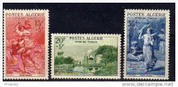 Algérie N° 346 à 348 Neufs ** - Cote 24,50€ - Non Classés
