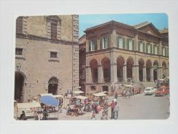 AREZZO - Cortona - Piazza Signorelli In Occasione Di Una Caratteristica Fiera Artigianale - Arezzo