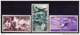 Martinique Avion N° 13 à 15 Neufs * - Cote 57,75€