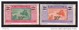 Mauritanie N° 55 Et 56 Neufs * - Cote 18,50€