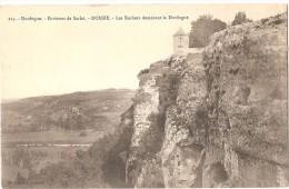 Dépt 24 - DOMME - Les Rochers Dominant La Dordogne - Frankreich