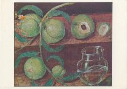 HERCULANUM : Fresco : ## Stilleven Met Perziken ## :  Kunstkaart Met Beschrijving Op De Keerzijde. - Paintings