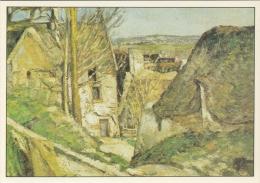 CÉZANNE : ## Het Huis Van De Gehangene ## : IMPRESSIONISME - Kunstkaart Met Beschrijving Op De Keerzijde. - Paintings