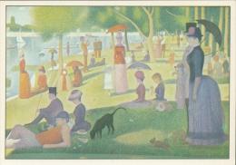 SEURAT : ## La Grande Jatte ## : IMPRESSIONISME - Kunstkaart Met Beschrijving Op De Keerzijde. - Paintings
