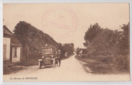 Hameau De HOURGES - Automobile -  Marque Postale Militaire WW1 Du 114e Régiment D'Infanterie Territoriale 12e Compagnie - France