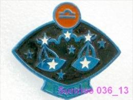 SPACE: Libra / Old Soviet Badge USSR_36_sp2365 - Espace