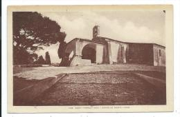 CPA SAINT TROPEZ -CHAPELLE SAINTE ANNE -Var (83) -Edit. Marius Bar, Toulon - Saint-Tropez