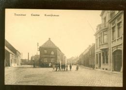 Cuerne (Kuurne)  :  Tramstraat - Kortrijkstraat