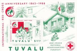 Tuvalu - Red Cross Mini Sheet MNH - Tuvalu